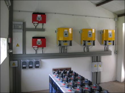 Paneles solares de sistemas aislados for Baterias placas solares
